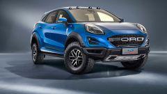 Ford Puma Raptor: il rendering