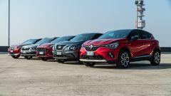 Ford Puma, Renault Captur, Peugeot 2008, Skoda Kamiq, Nissan Juke: sfida tra crossover compatti