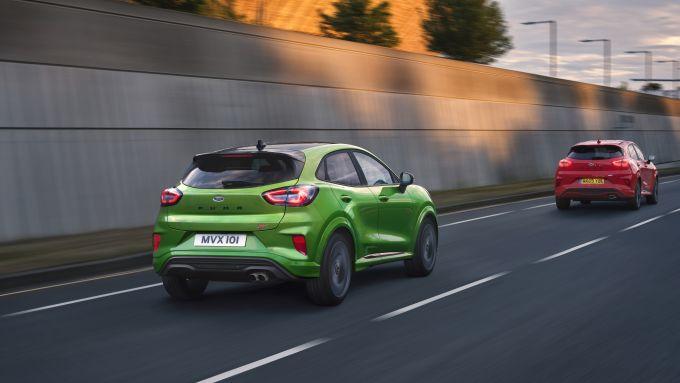 Ford Puma ST 2021: il posteriore
