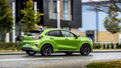 Ford Puma ST: ha ammortizzatori Hitachi a smorzamento selettivo e nuove barre stabilizzatrici