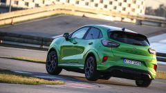 Ford Puma ST ha la tendenza ad alzare la ruota posteriore in curva