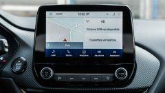 Ford Puma ST Line X: il display touch