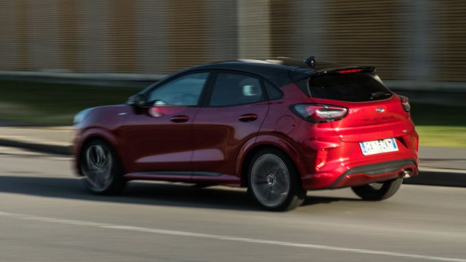 Ford Puma ST Line X: passaggio