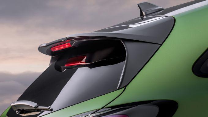Ford Puma ST: lo spoiler sul tetto