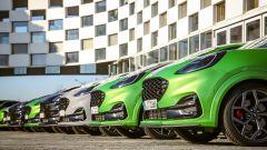 Ford Puma ST: parata di frontali