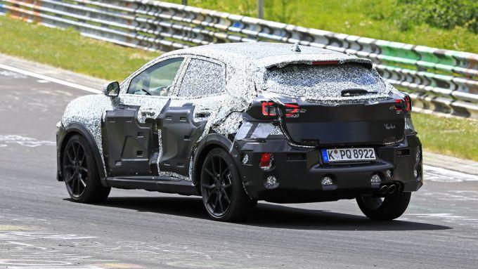 Ford Puma ST: uno dei prototipi in test al Nurburgring