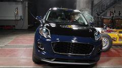 Ford Puma - test di impatto contro il palo
