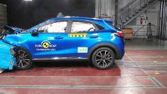 Ford Puma - test di impatto frontale disassato