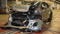 Ford Puma - test di impatto frontale dopo l'impatto