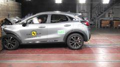 Ford Puma - test di impatto frontale