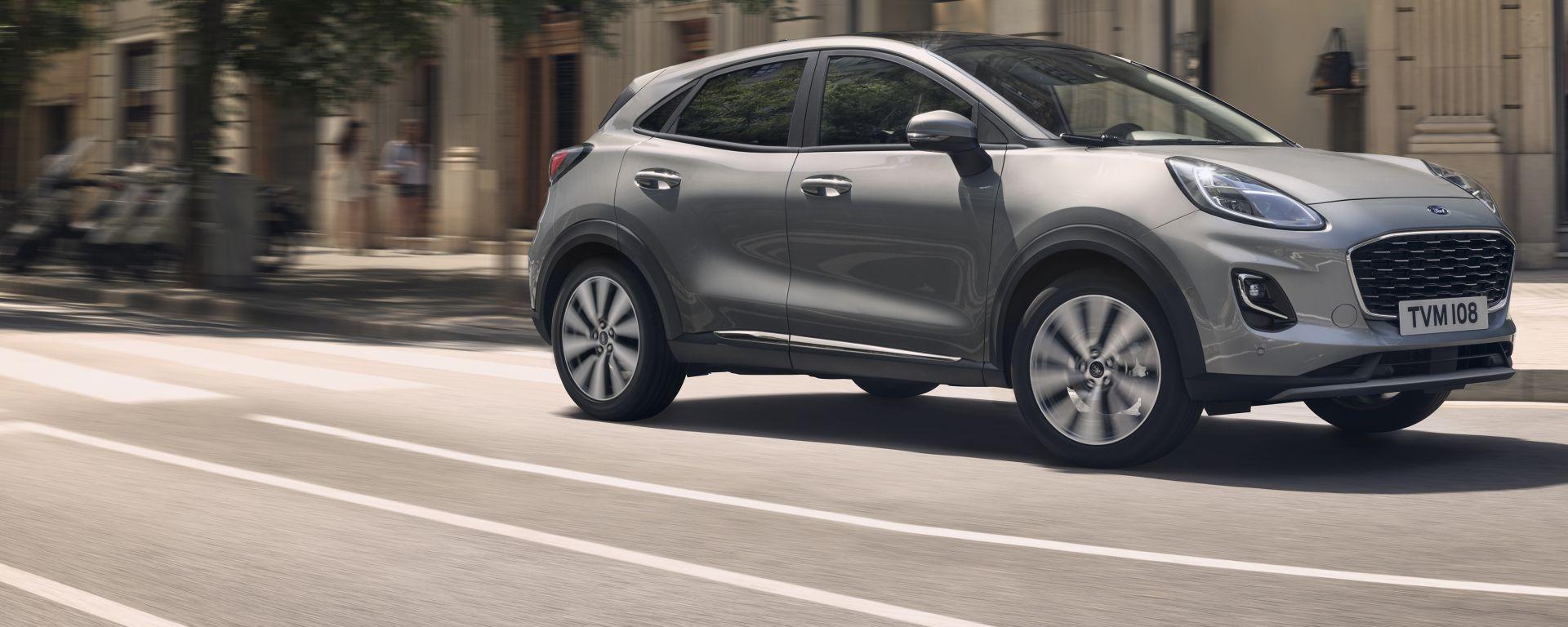 Ford Puma Titanium X: comfort, eleganza e innovazione