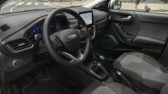 Ford Puma Titanium X, il posto di guida