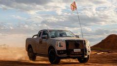 Ford Ranger 2022, prime immagini e video teaser della nuova generazione