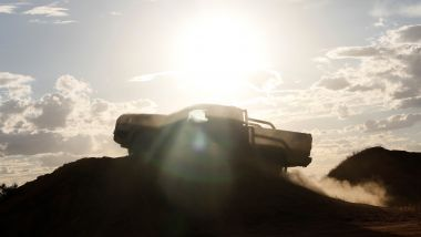 Ford Ranger 2022, le prime immagini teaser