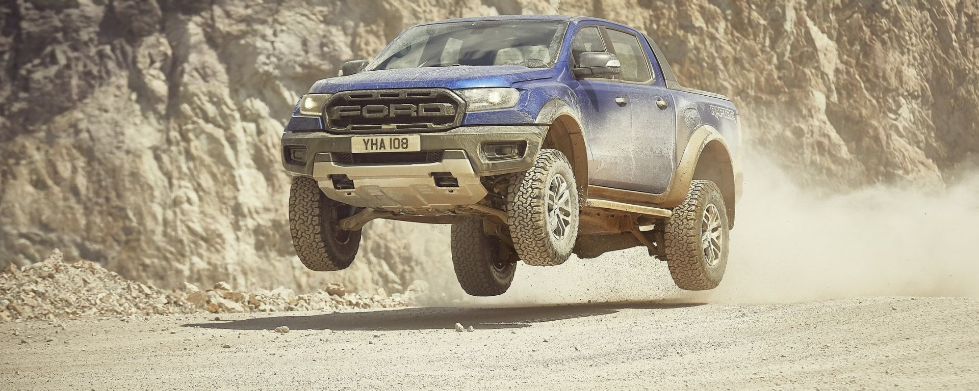 Ford Ranger Raptor 2019 salto