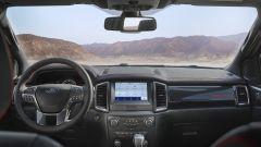 Ford Ranger Stormtrak: l'abitacolo