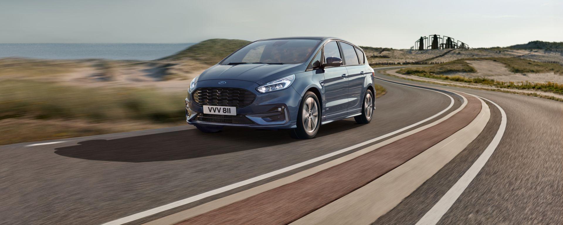 Ford S-Max 2019: come cambia la monovolume dell'Ovale Blu
