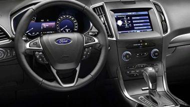Ford S-Max 2019: l'abitacolo