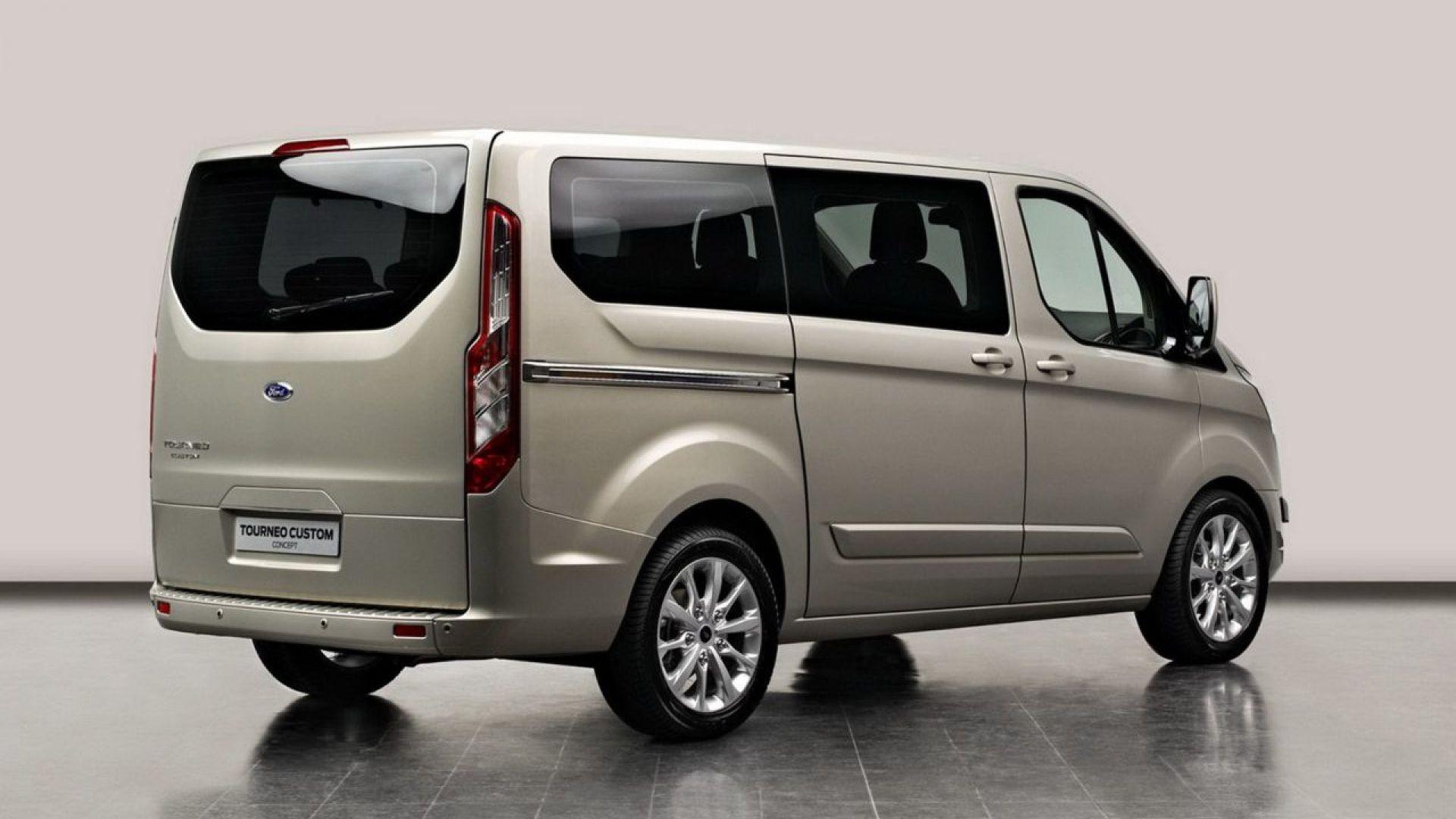 Immagine 2: Ford Tourneo Concept