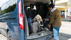 Ford Tourneo Custom Sport, grande capacità di carico