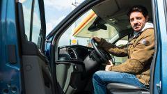 Ford Tourneo Custom Sport, posizione di guida iper-rialzata