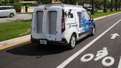 Ford Transit Connect, a Miami consegne a guida autonoma. Ma c'è il trucco