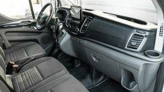 Ford Transit Custom Plug-in Hybrid, interni: il cruscotto
