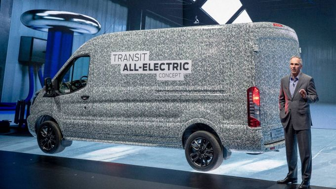 Ford Transit full-electric: il concept