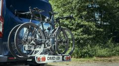 Ford Transit Nugget: con portabici (optional)