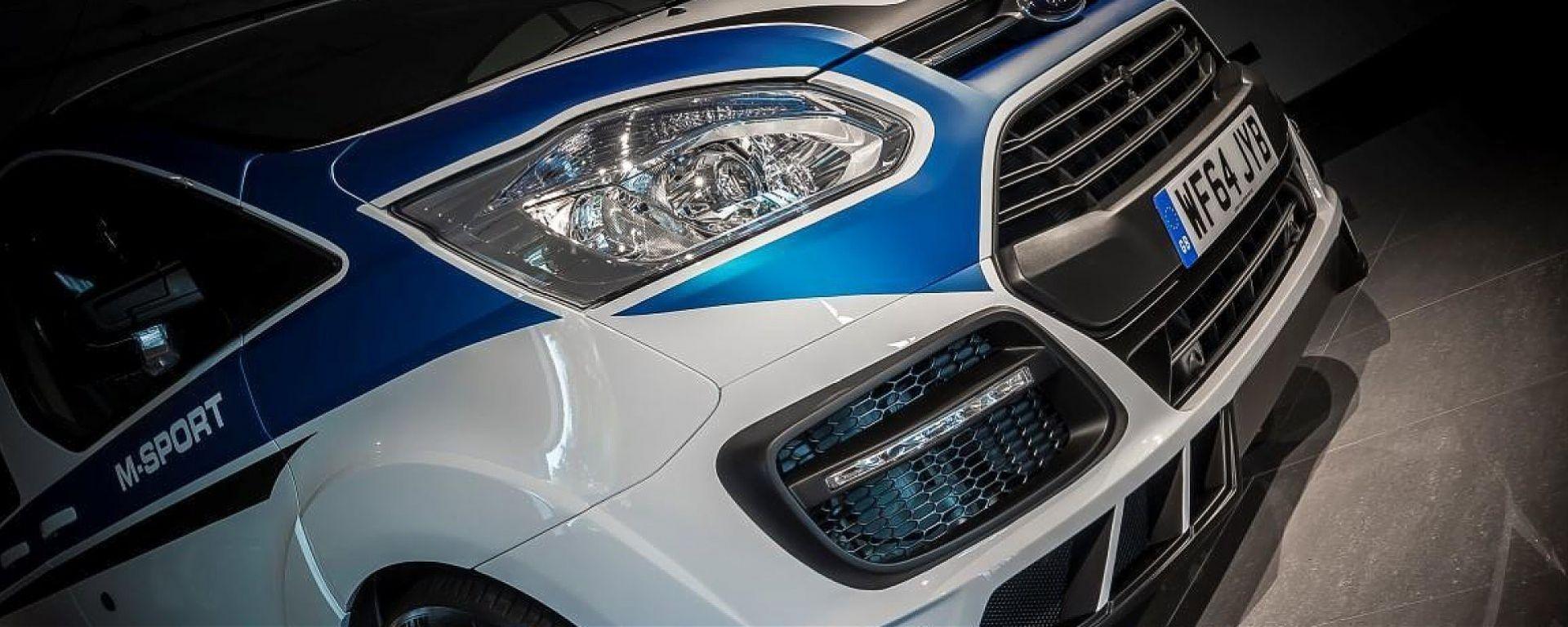 Ford Transit WRC by M-Sport