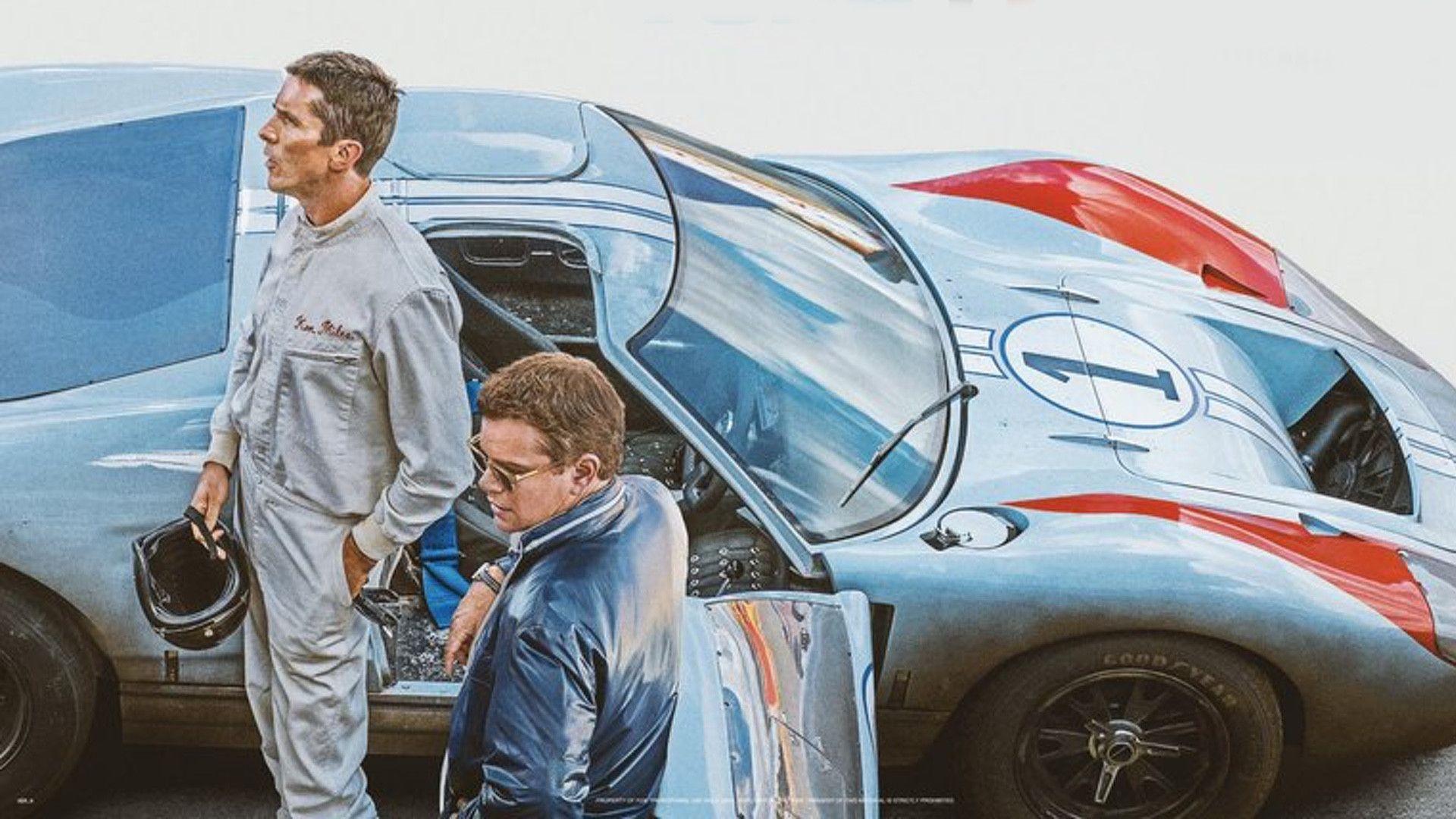 Film Ford v. Ferrari: Christian Bale e Matt Damon, il trailer - MotorBox