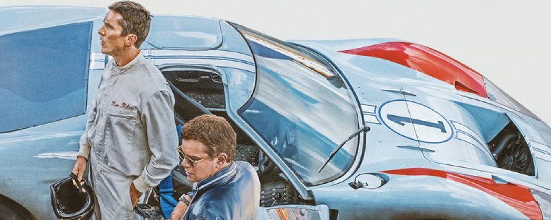 Ford v. Ferrari con Christian Bale e Matt Damon, il trailer