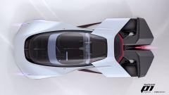 Fordzilla P1: visuale dall'alto