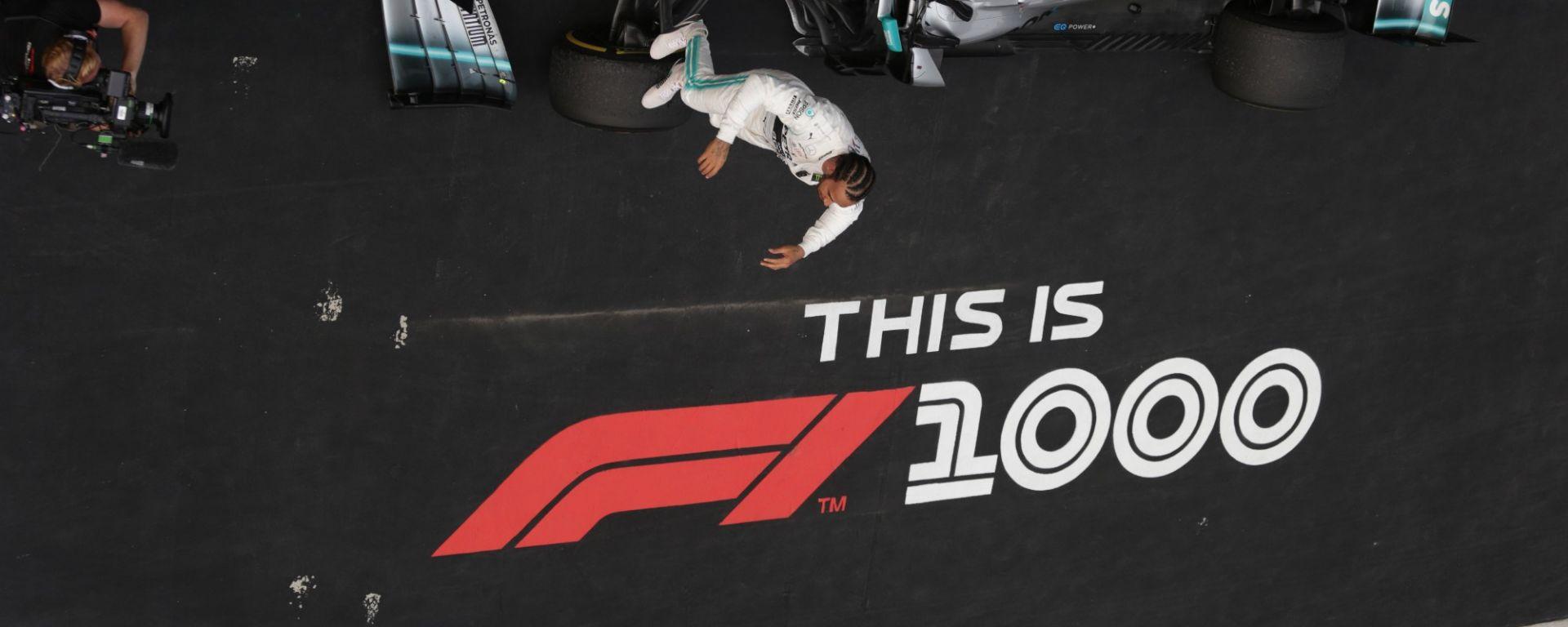 Formula 1: 1000 GP in numeri