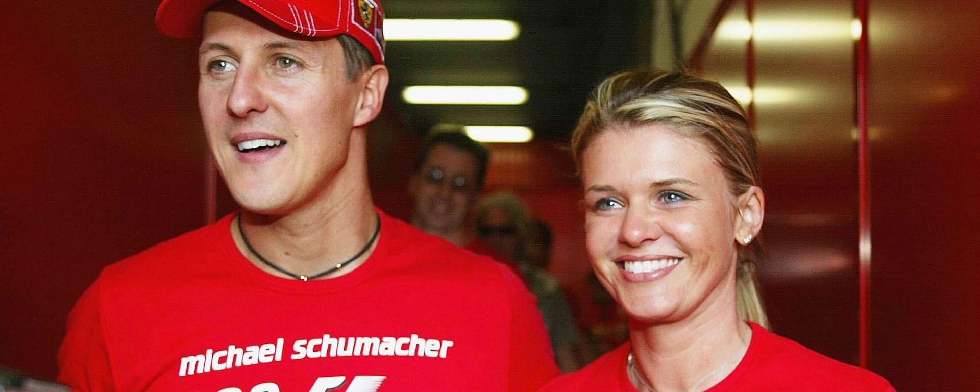 """Corinna Schumacher scrive in una lettera: """"Michael non si arrenderà"""""""