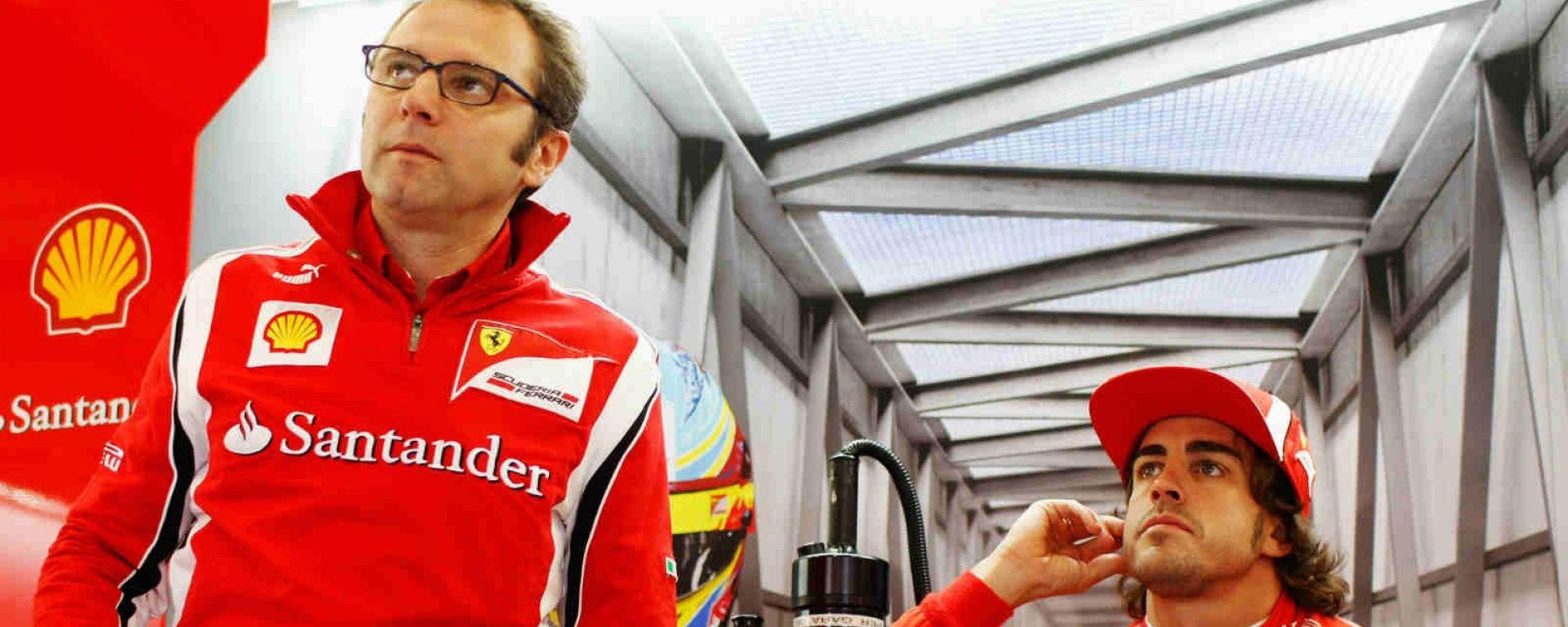 Domenicali vede possibile il ritorno di Alonso in Ferrari