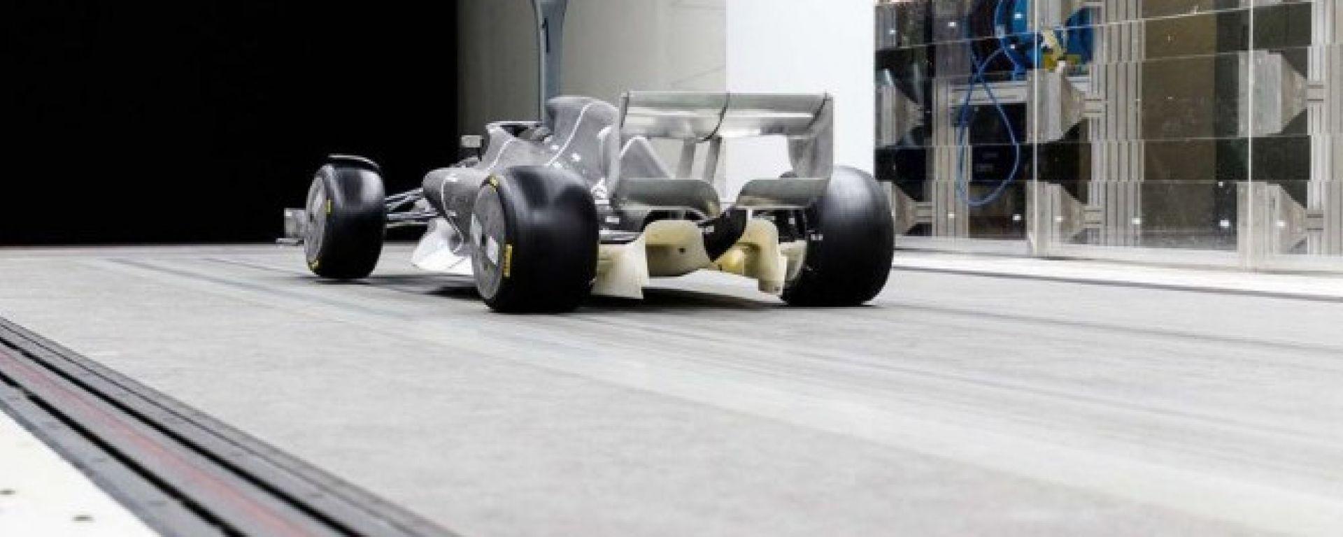 F1: prime foto e video di una monoposto 2021