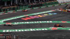 Formula 1, GP Messico 2018, una fase della gara