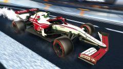 Formula 1 in Rocket League: la livrea Alfa Romeo