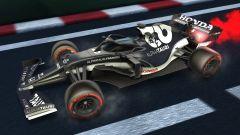 Formula 1 in Rocket League: la livrea Alpha Tauri