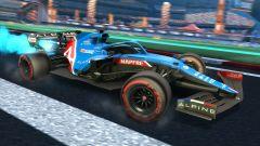 Formula 1 in Rocket League: la livrea Alpine