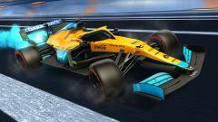 Formula 1 in Rocket League: la livrea McLaren