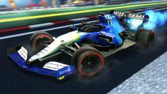 Formula 1 in Rocket League: la livrea Williams