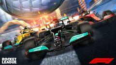 Rocket League: disponibile dal 20 maggio il Formula 1 Fan Pack. Il trailer