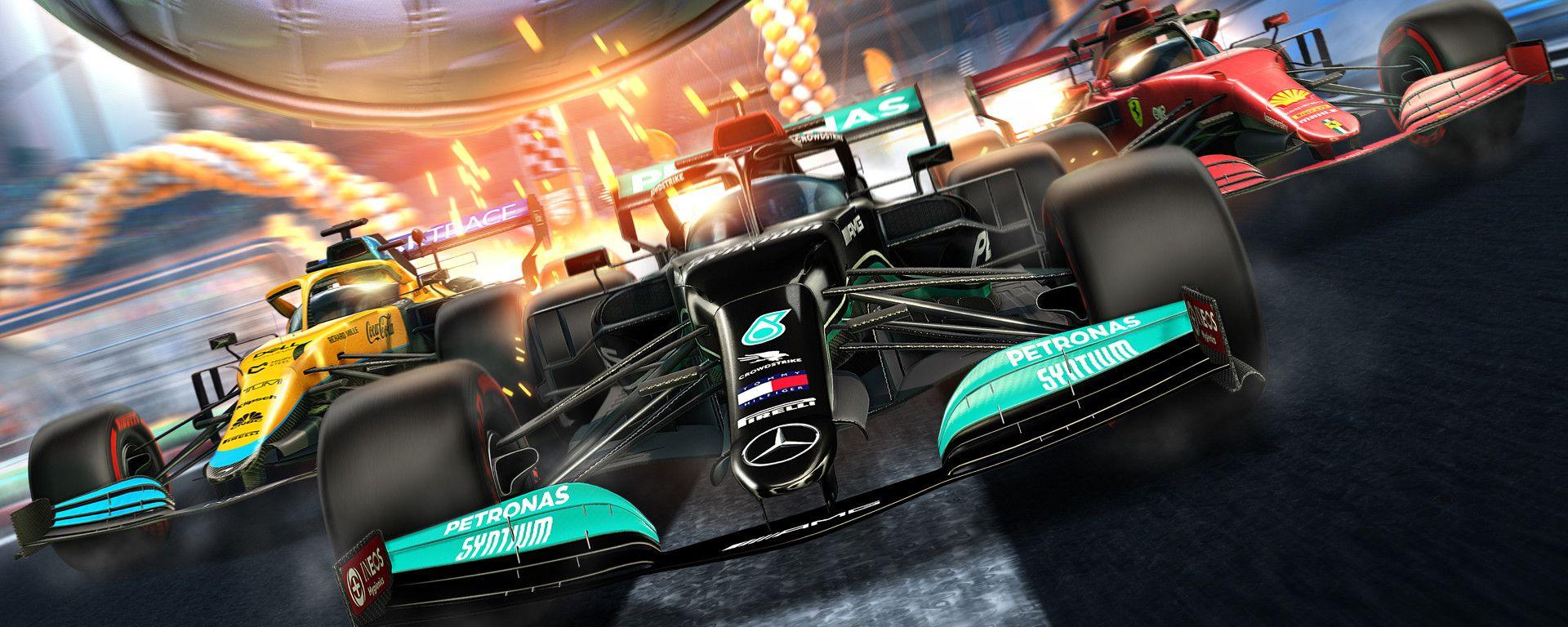 Formula 1 in Rocket League!