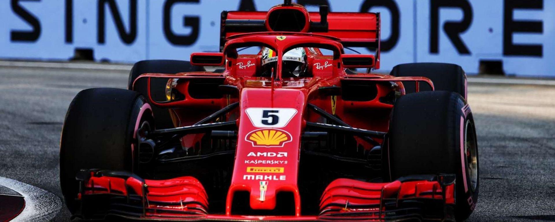 """Sebastian Vettel: """"Il momento cruciale del 2018 a Singapore"""""""