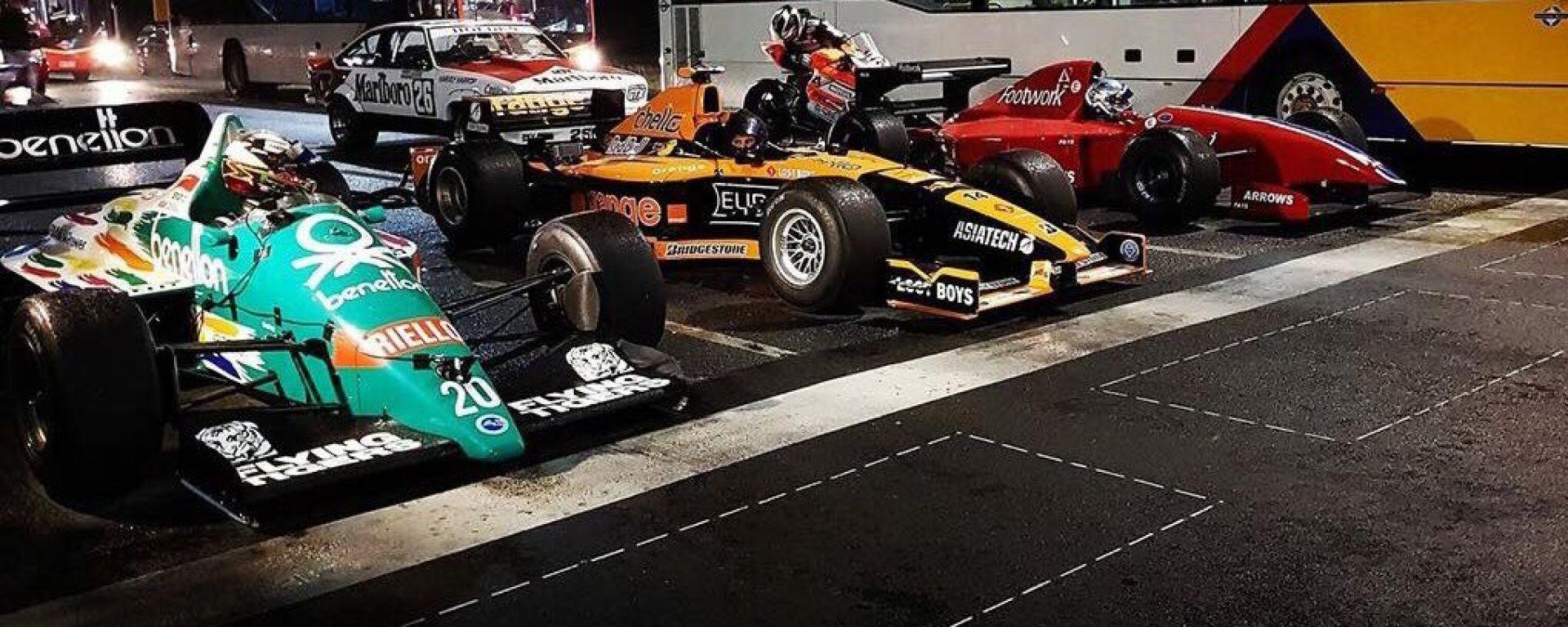 Formula 1 storiche in quel di Adelaide