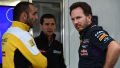 Tra Red Bull e Renault volano... cerchioni