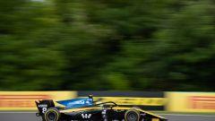 Formula 2 2019, Budapest: Luca Ghiotto (Uni-Virtuosi) impegnato tra le curve dell'Hungaroring