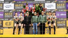 Formula 3, Macao GP, podio